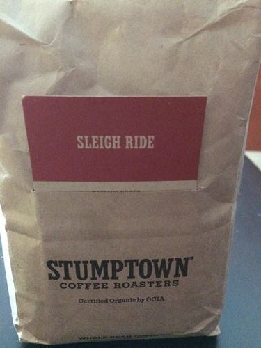 Review: Stumptown Coffee Roasters Sleigh Ride (Portland, Oregon)