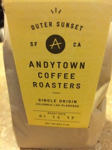 Review: Andytown Coffee Roasters Colombia Las Planadas (San Francisco, California)