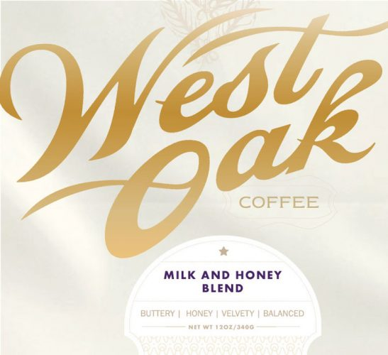 Review: West Oak Coffee Milk and Honey Blend (Denton, Texas)
