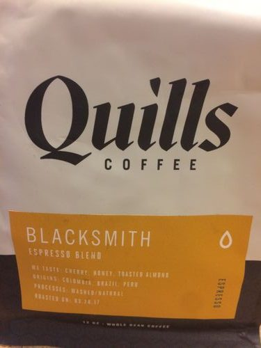 Review: Quills Coffee Blacksmith Espresso (Louisville, Kentucky)