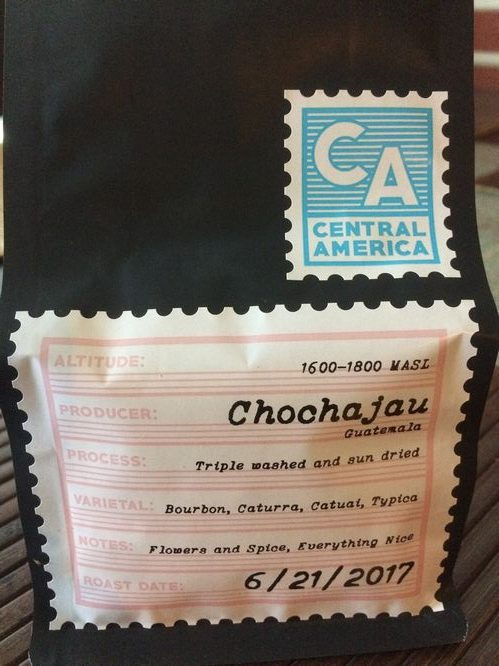 Mini review: Slightly Coffee Roasters Guatemala Chochajau (Eugene, Oregon)