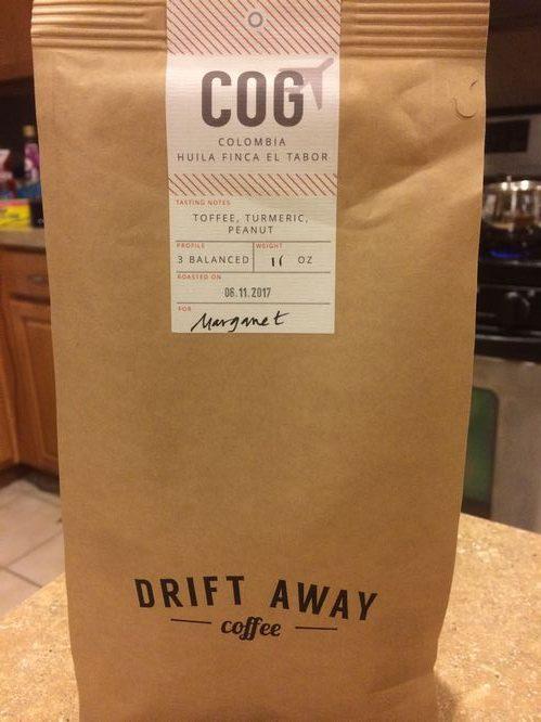 Review: Driftaway Coffee Colombia Huila Finca el Tabor (Brooklyn, New York)
