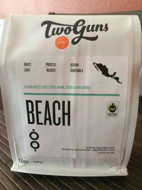 Review: Two Guns Beach Blend (Manhattan Beach, California)