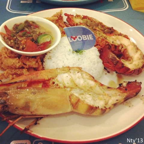 Mix Platter Loobie Lobster