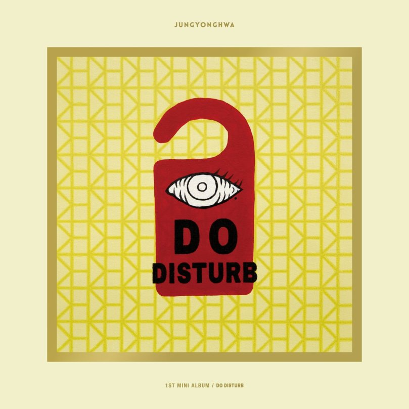 Jung Yong Hwa DO DISTURB Special Version