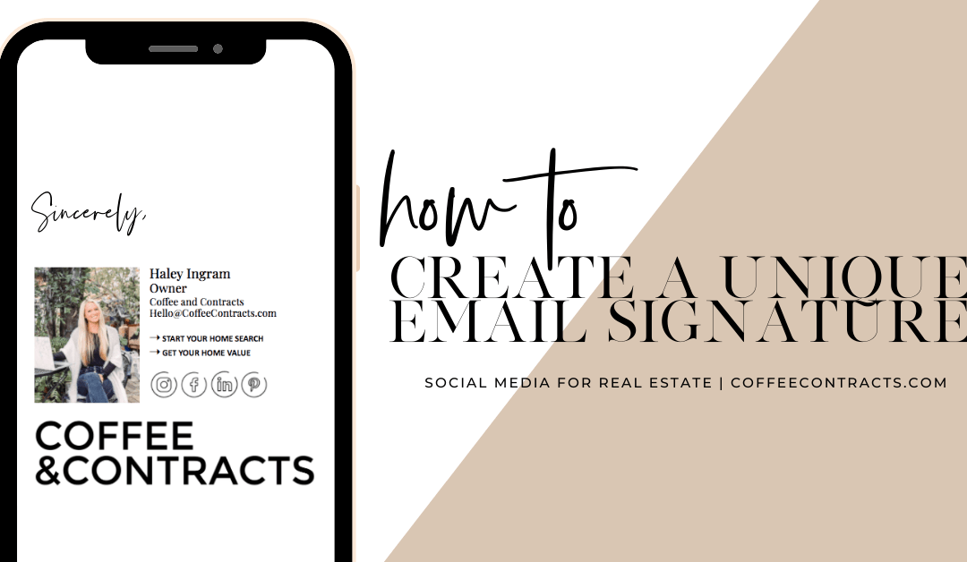 How to Create A Unique Email Signature