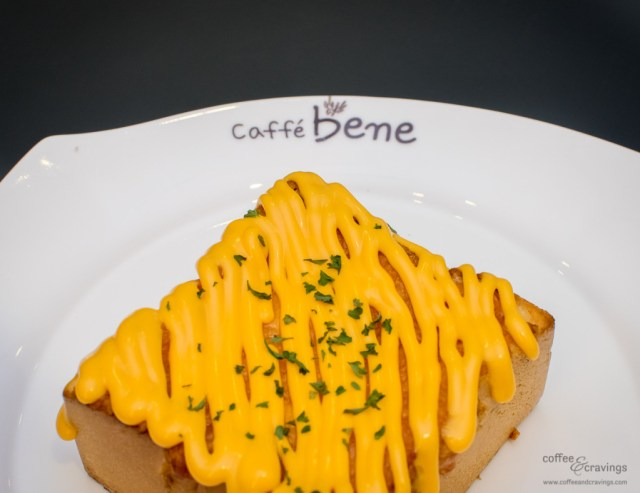 Caffébene Singapore: Garlic & Cheese Bread