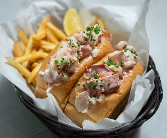 Orchard Central - Dancing Crab - Lobster Roll