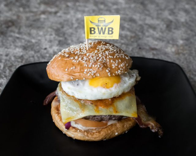Orchard Central - BWB - Classic Heavyweight Burger