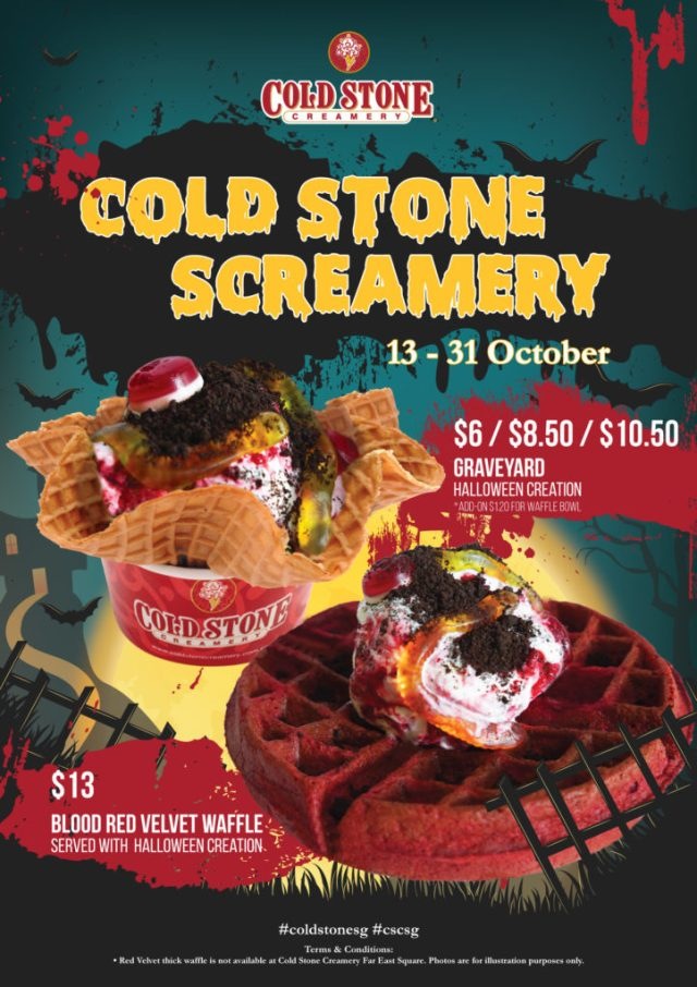 Cold Stone Screamery Halloween 2016