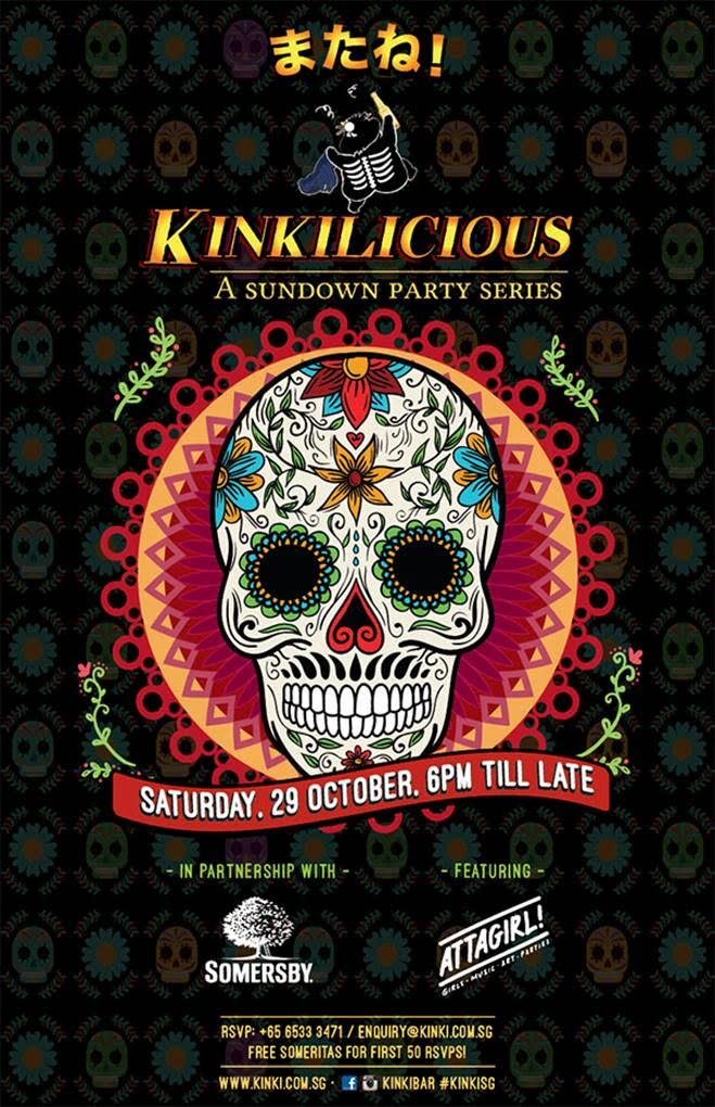 Kinkilicious Sundown Series Halloween 2016