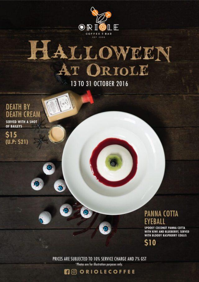 Oriole Coffee + Bar Halloween 2016