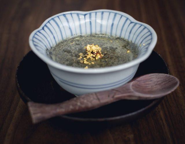 Kanda Wadatsumi — Black Sesame Dessert