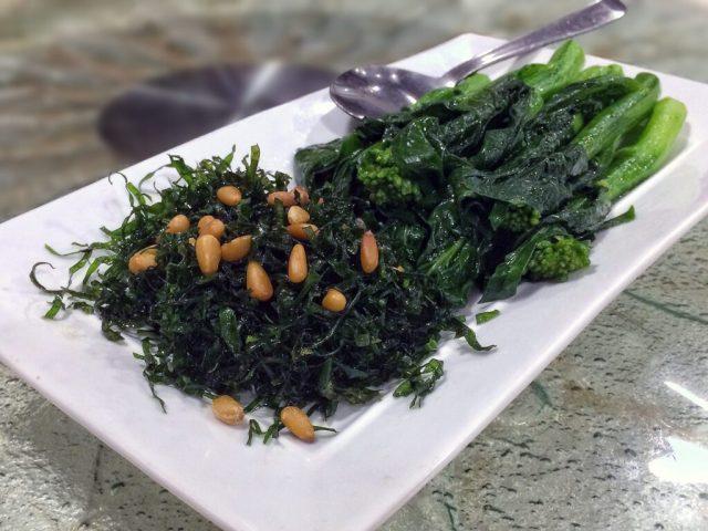 Yum Cha — Sauteed Hong Kong Kai Lan with Dried Conpoy