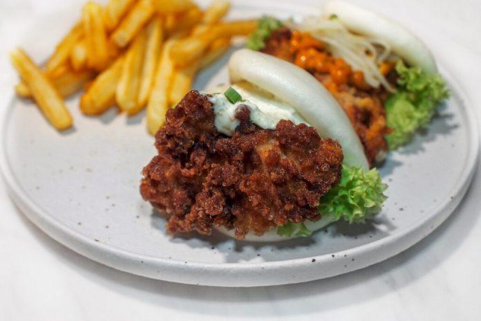 Bao Makers x Butler's Steakbar — Soft Shell Crab Bao And Nanban Chicken Bao