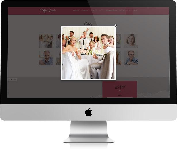 Perfect Couple - Wedding WordPress Theme - 7