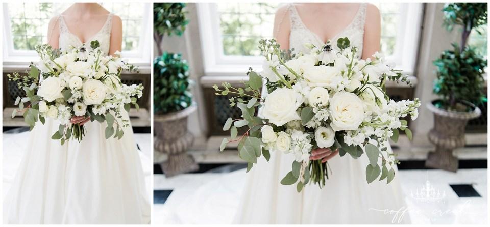 bouquet at Laurel Hall Wedding