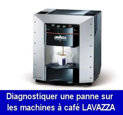 diagnostiquer reparer trouver panne machine a cafe lavazza. Black Bedroom Furniture Sets. Home Design Ideas
