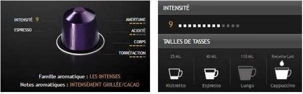 Acheter des capsules nespresso Arpeggio & Arpeggio décaféiné pas cher en promotion