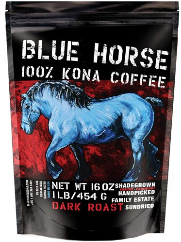 Blue Horse Hawaiian Kona Coffee