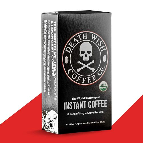 Death wish coffee instant stick