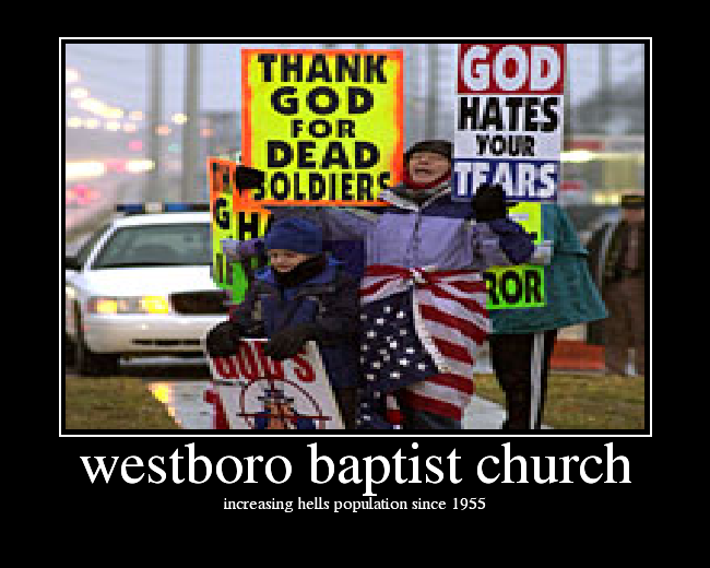 Westboro Baptist Church, Lady Gaga, and the Parodic Abyss (4/6)