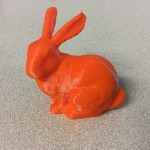 Stanford Bunny 3D Printing Challenge with Meshmixer