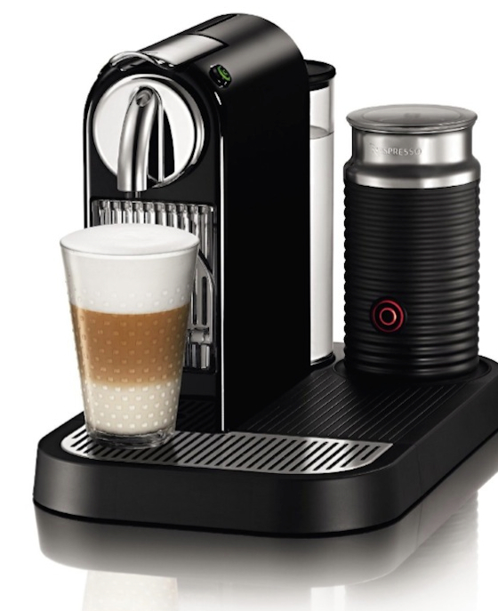 Nespresso D121-US-BK-NE1 Citiz Espresso Maker with Aeroccino Milk Frother