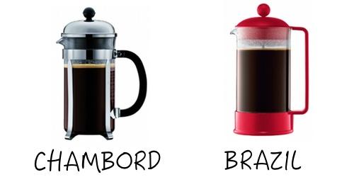 Bodum Chamboard vs Brazil