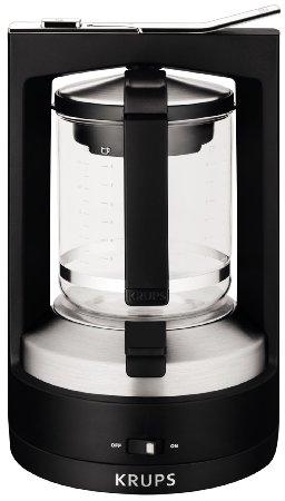 KRUPS KM468850 8000034929 Moka 10-Cup Brewer Filter Coffee Maker
