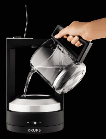 KRUPS KM468850 8000034929 Moka 10-Cup Brewer Filter Coffee Maker_