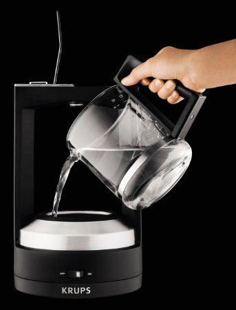 KRUPS KM468850 8000034929 Moka 10-Cup Brewer Filter Coffee Maker_