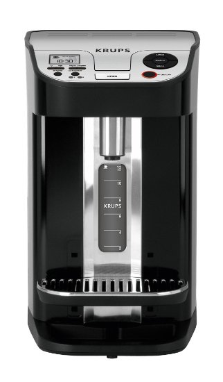 KRUPS KM9008 Cup on Request Programmable Coffee Maker with Precise Warming Technology