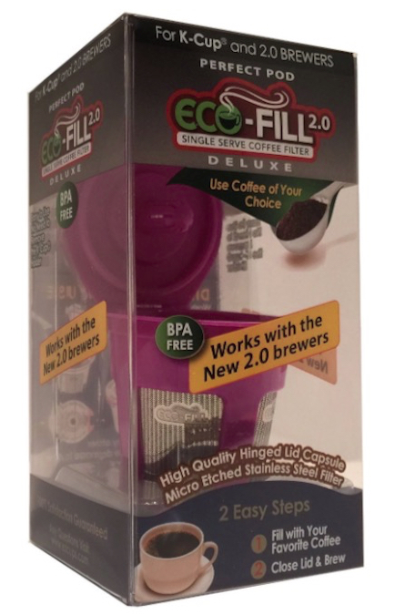 Eco-Fill 2.0 Deluxe for Keurig 2.0