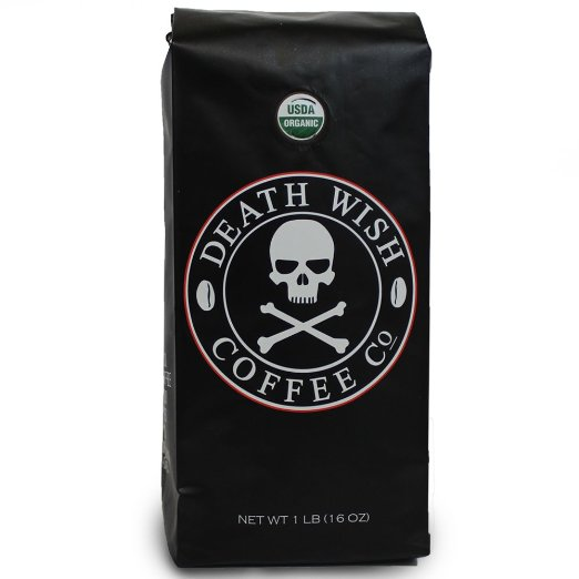 Death Wish Coffee, The World's Strongest Ground Coffee Beans