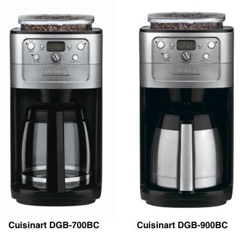 Cuisinart DGB-700BC vs 900BC