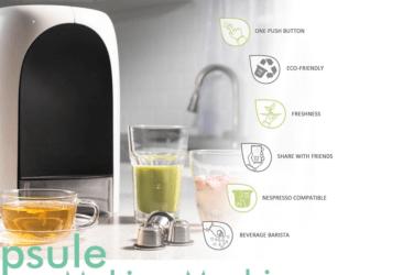Capsulier : une machine qui crée vos capsules Nespresso
