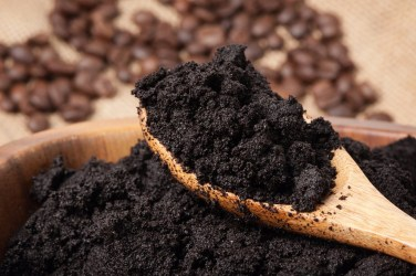 How to promote the coffee grounds ecologically?