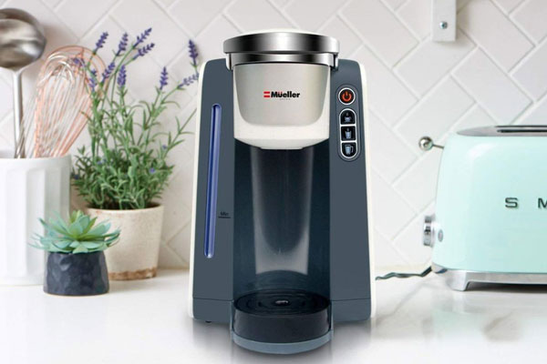 Coffee Gofer Best K Cup Coffee Maker Under $100 - Maker Plugged Into Wall