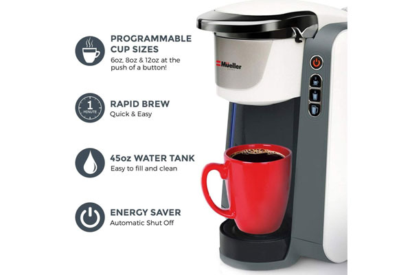 Coffee Gofer Best K Cup Coffee Maker Under $100 - Specs