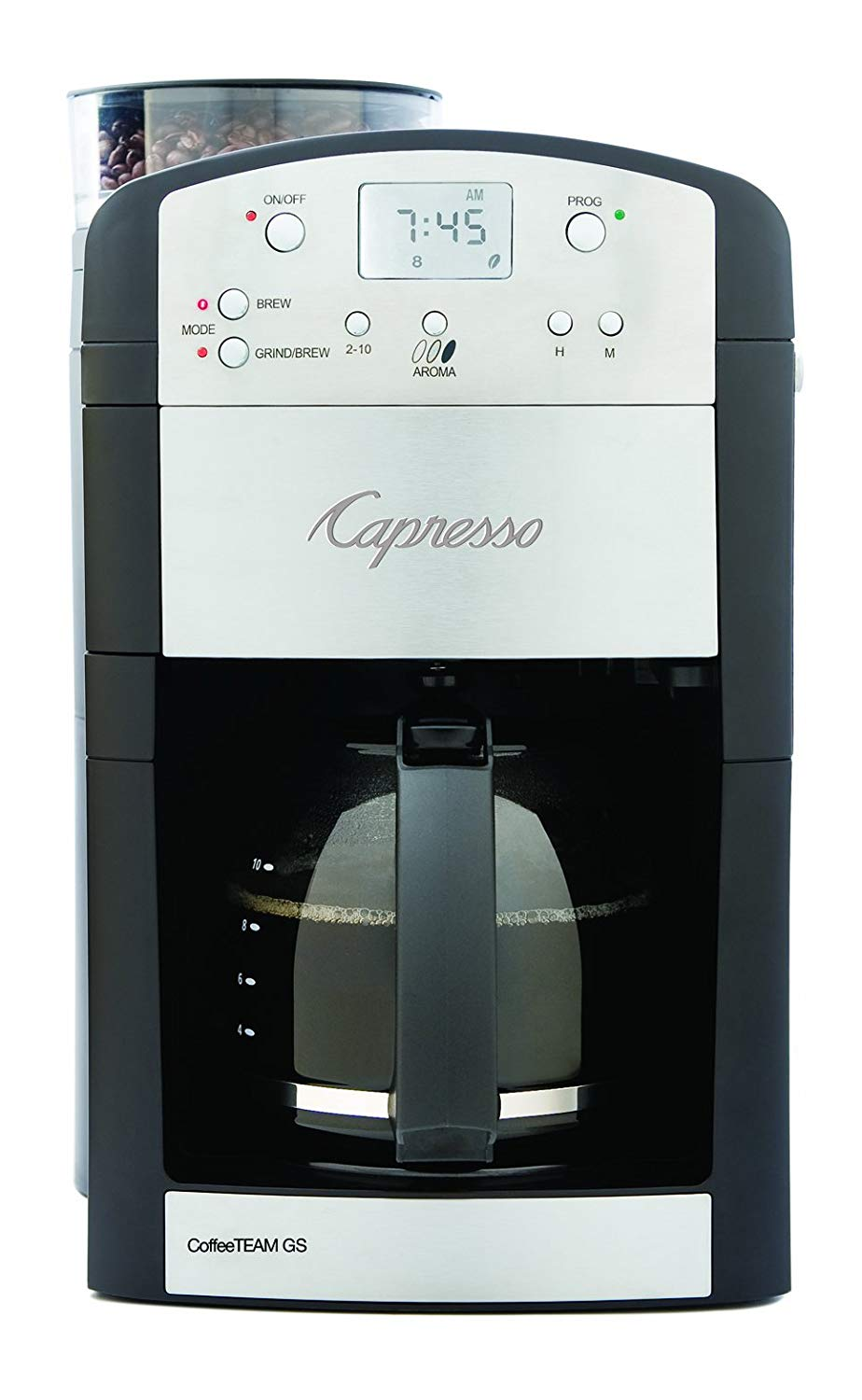 Coffee-Maker-With-Grinder-Capresso-Bur-Grinder
