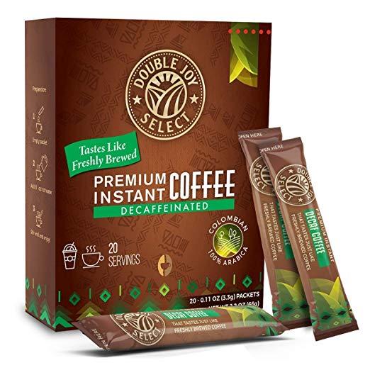Double Joy Instant coffee coffeeinblog