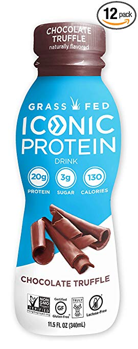 Iconic Protein Drink coffeeinblog