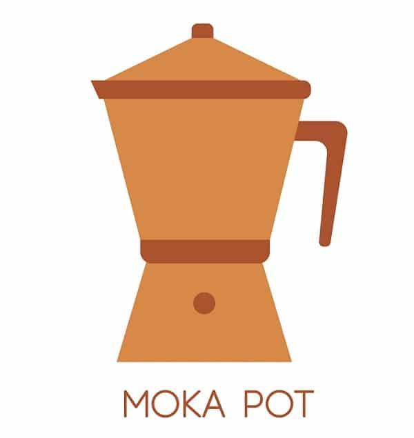 Moka Pot Coffee Brewing