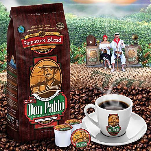 2LB Cafe Don Pablo Signature Blend Espresso Coffee