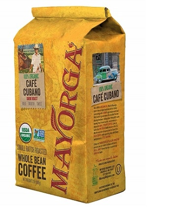Mayorga Organics Cafe Cubano Dark Roast