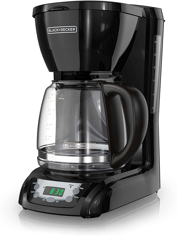 BLACK+DECKER DLX1050B 12-cup Programmable Coffee Maker