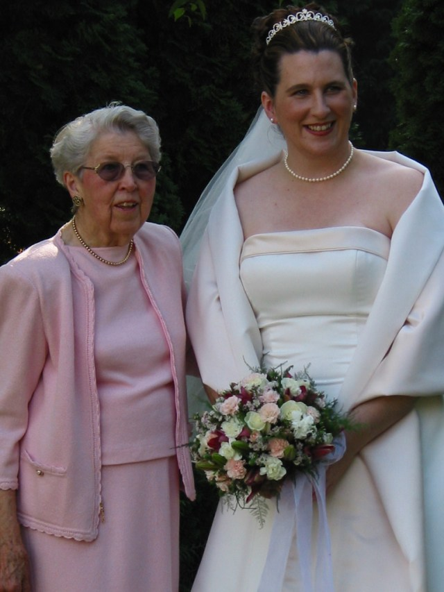 Doris McKinley and Judy Schwartz Haley - September 5, 2004
