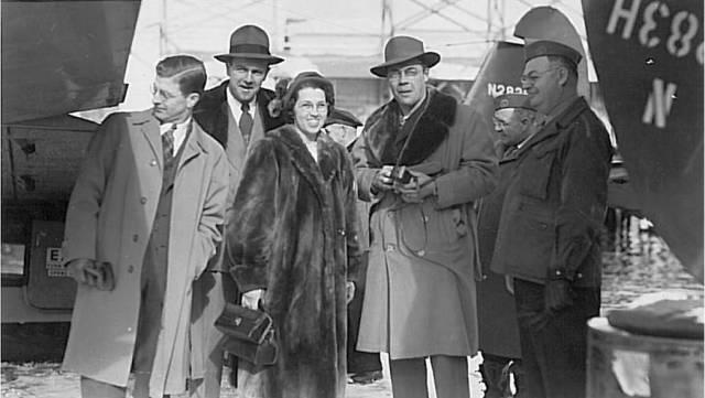 Doris McKinley - adventuring with the Lion's Club