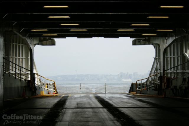 ferry view - running away